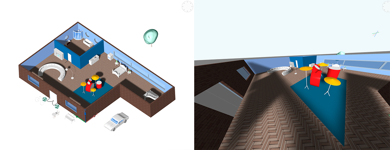 perspective and isometric view styles in BricsCAD Shape
