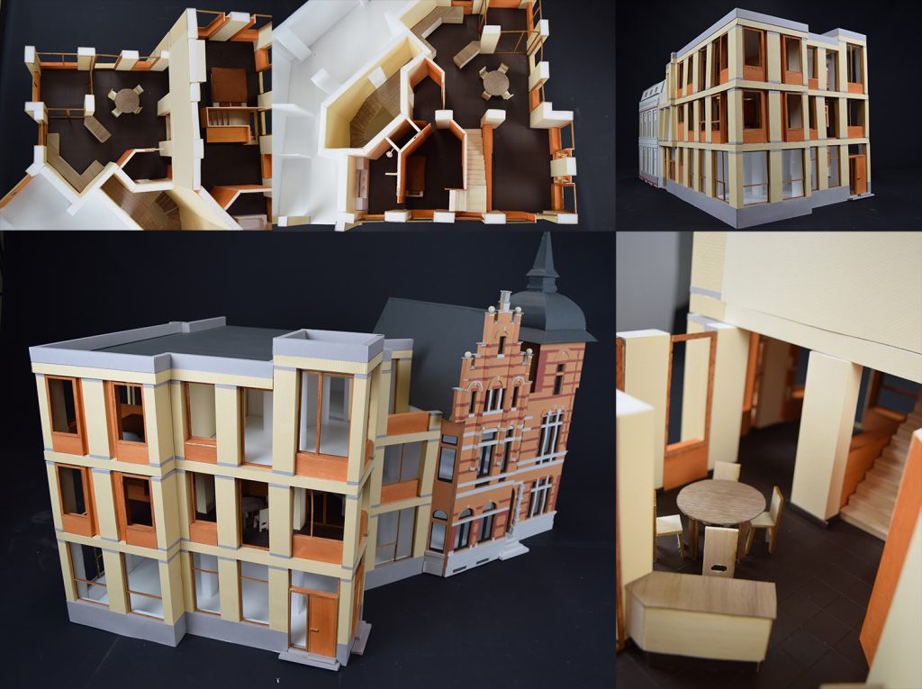 architectural model hand made