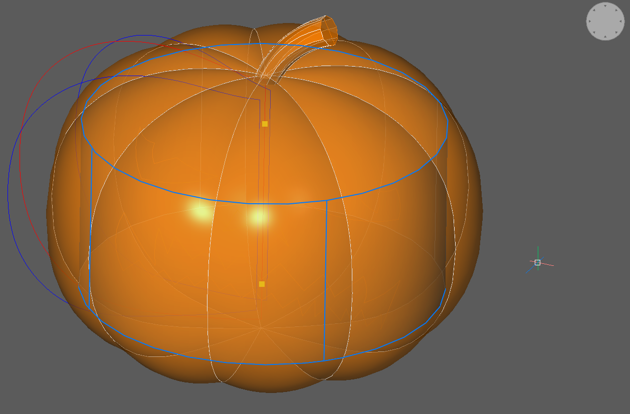 cylinder pumpkin halloween CAD tutorial
