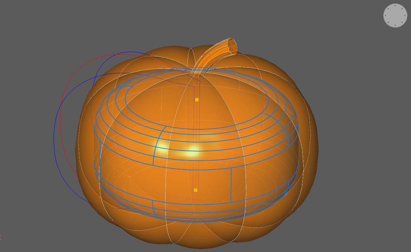 fillet pumpkin halloween CAD tutorial