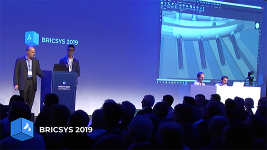 Bricsys 2019 stockholm key note bricsys BIM keynotes