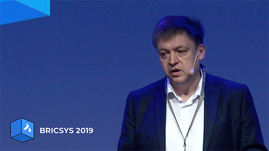 Bricsys 2019 stockholm key note mechanical sheet metal BricsCAD keynote