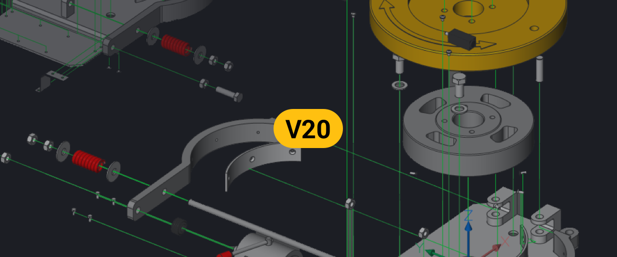 Introducing BricsCAD® Mechanical V20
