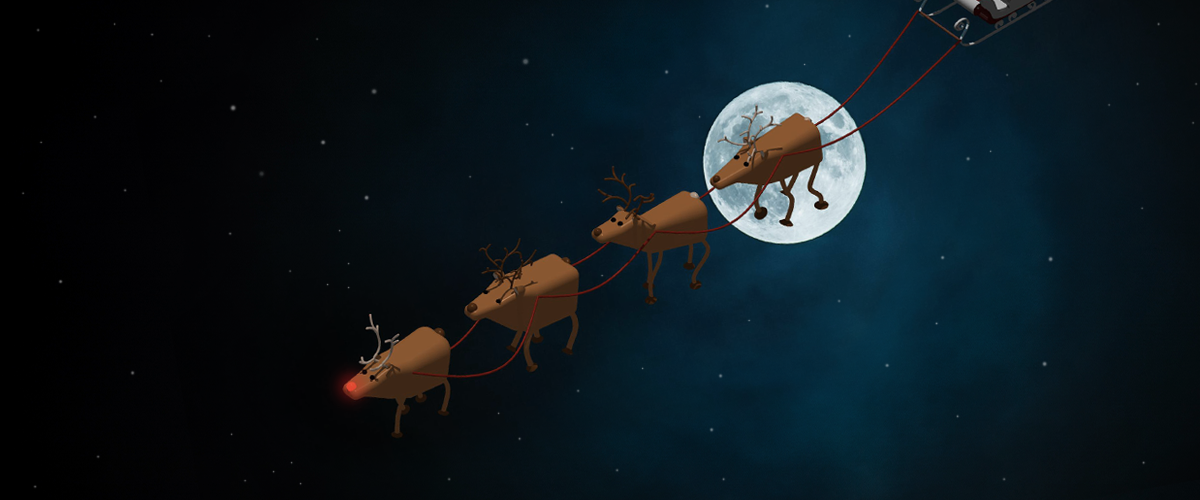 Christmas CAD – Rudolph the Red-Nosed Reindeer
