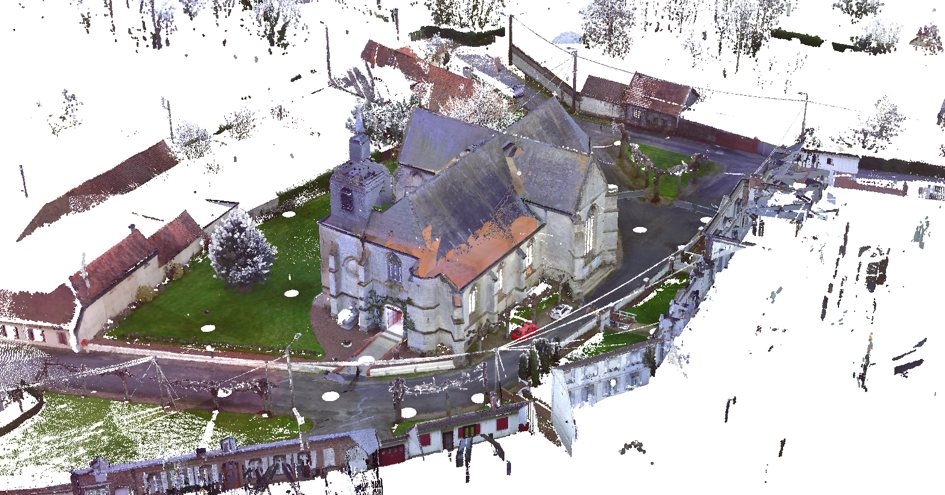 point cloud bim convert church model CAD