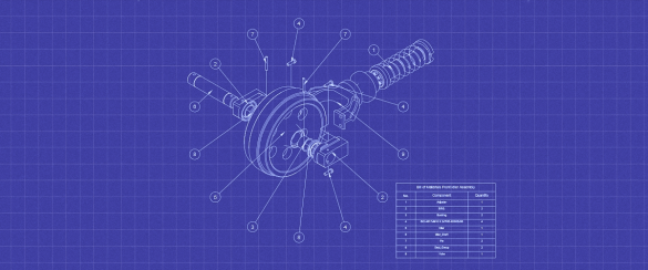 how to make a blueprint effect in Bricscad