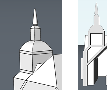 how to make a church in CAD