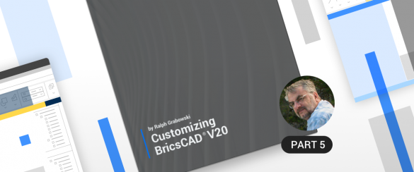 Custom user interface BricsCAD