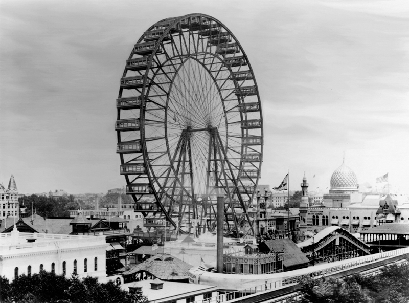 who invented the first ferris wheel?