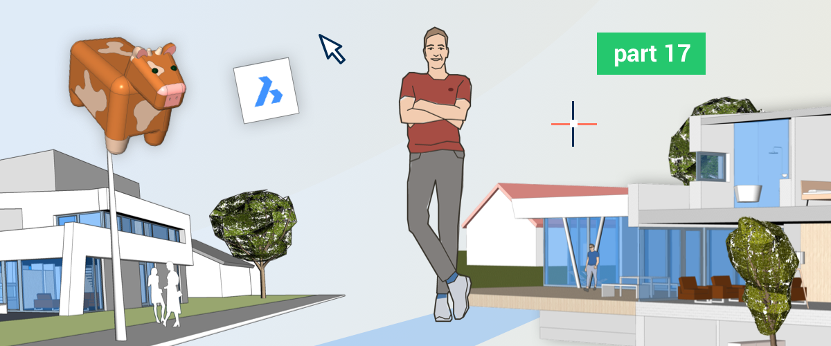 Lazy Man's Guide to BricsCAD® Shape User Problems – Joachim's Journey Part 17