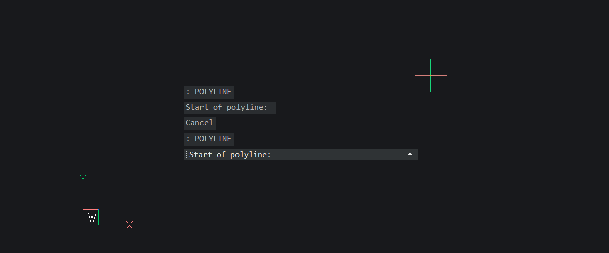 Floating Command Line – New for BricsCAD V20