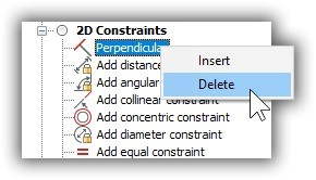 remove buttons from the quad in BricsCAD
