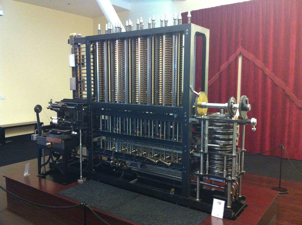 Difference Engine No. 2 Charlse babbage first computer