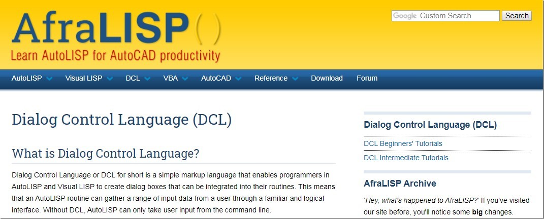more information dcl coding