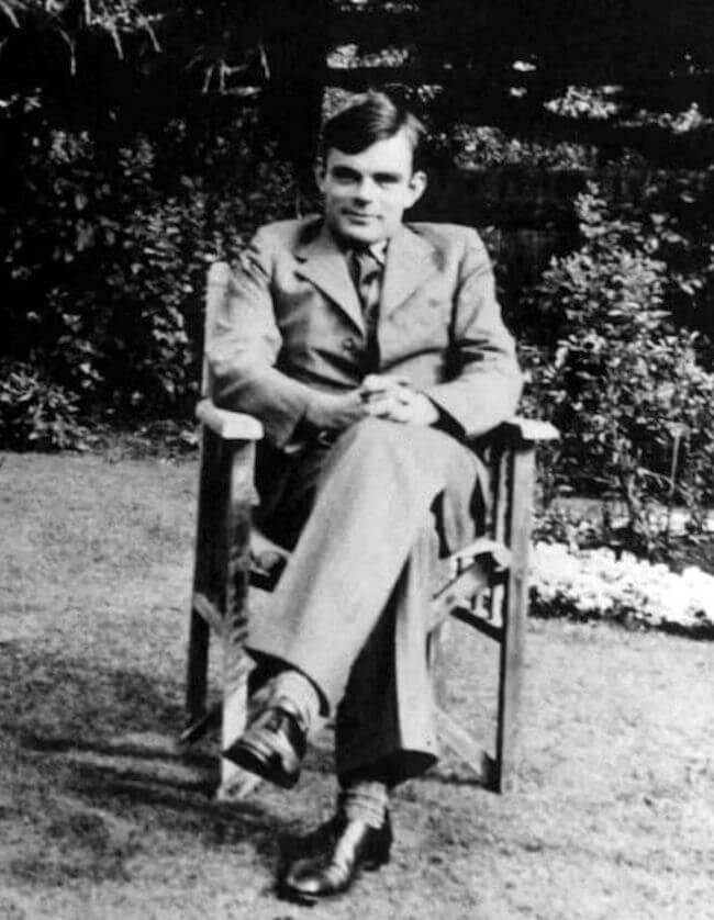 Alan Turing 1930 did he invent computers