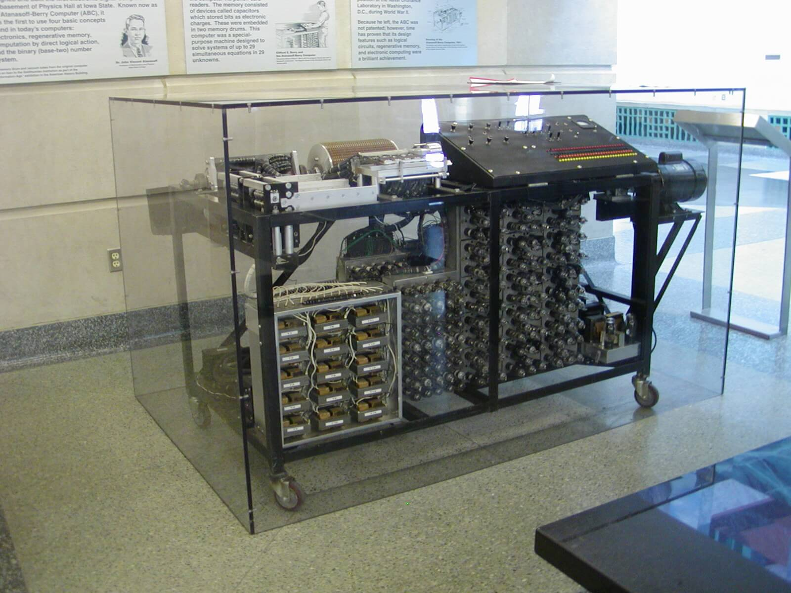 Atanasoff Berry Computer the first electric computer inveted