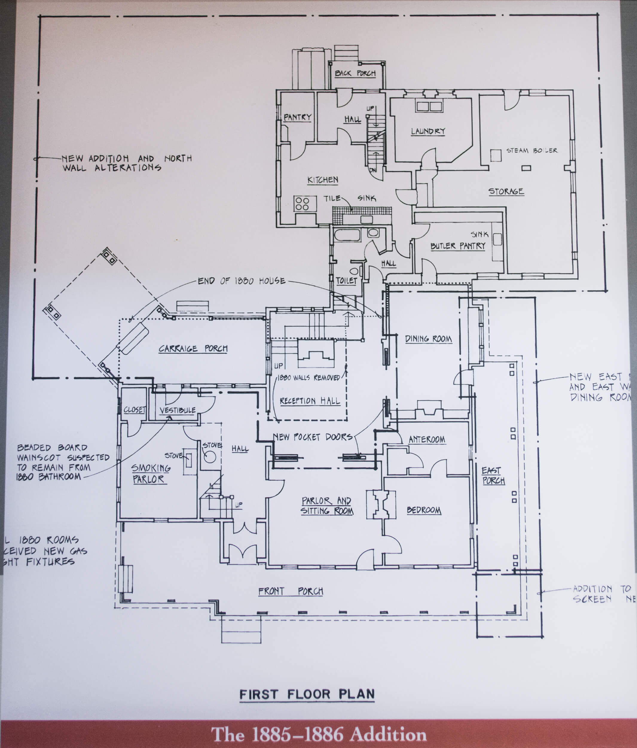 Input raster image of floor plan hand drawn text