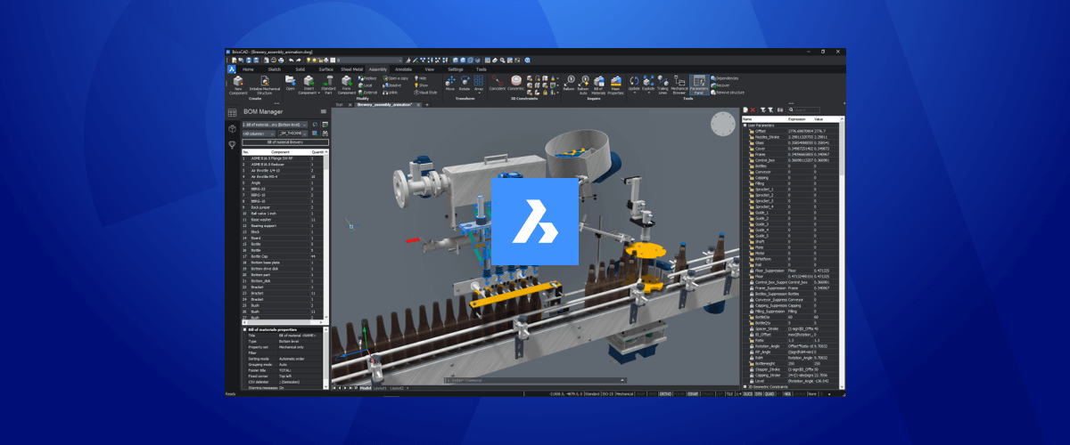 What's New for BricsCAD Mechanical V21?