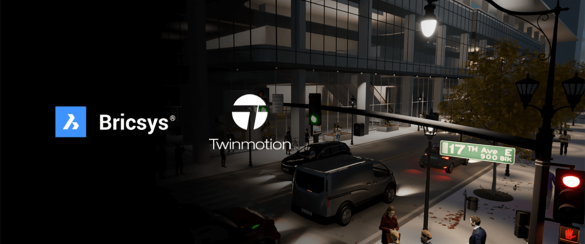 bricscad twinmotion unreal engine rendering