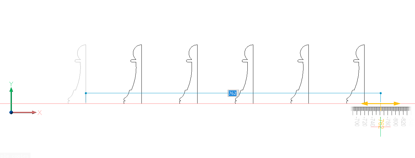 copying 2d lines with the manipulator BricsCAD