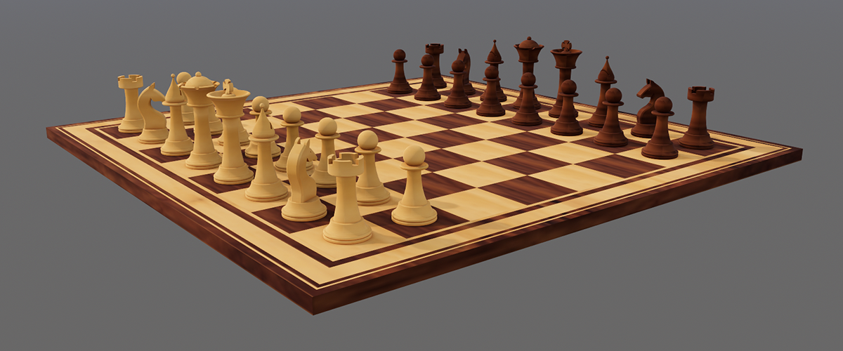 How to Model a Chess Set – Easy Builds