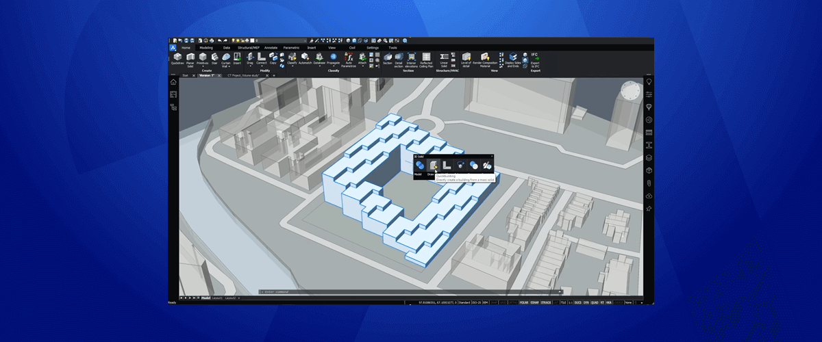 Leverage AI to Take the Hard Work Out of Building Design – New for BricsCAD BIM V21