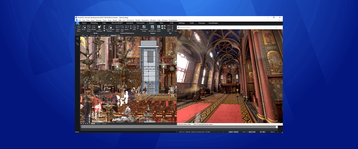 What's New for Point Clouds in BricsCAD V21?