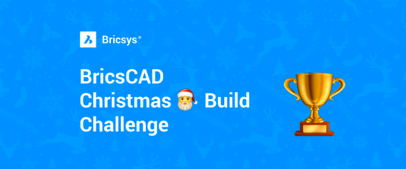 bricscad christmas build iššūkis