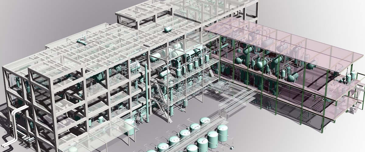Combining BricsCAD®BIM and CADWorx for Plant Design