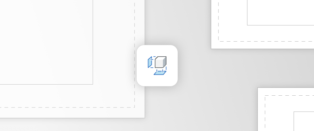 The View Base Command – Paper Space in BricsCAD