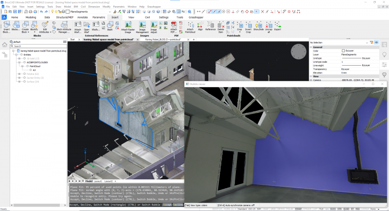 Point Cloud to 3D