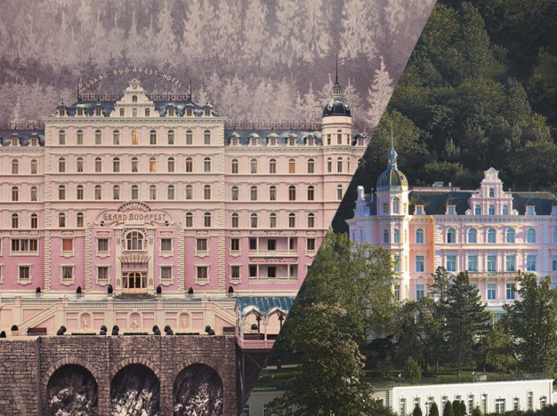 The Grand Budapest Hotel compared with Hotel Bristol